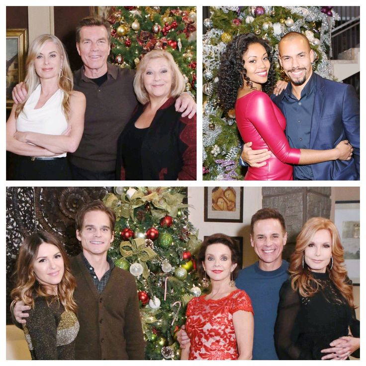 The holiday celebration continues TODAY on The Young and the Restless! #HappyHolidays #YR