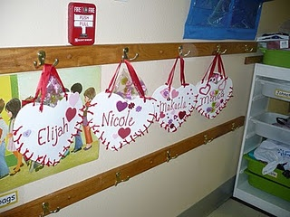 Valentine's Day Activities for Preschool... We are totally making these heart bags this yet. A nice change from the paper bag mailboxes