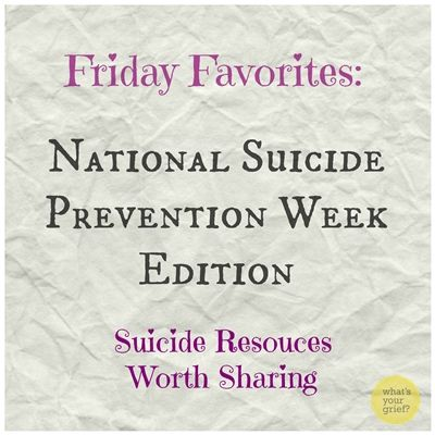 suicide prevention week favorites fb