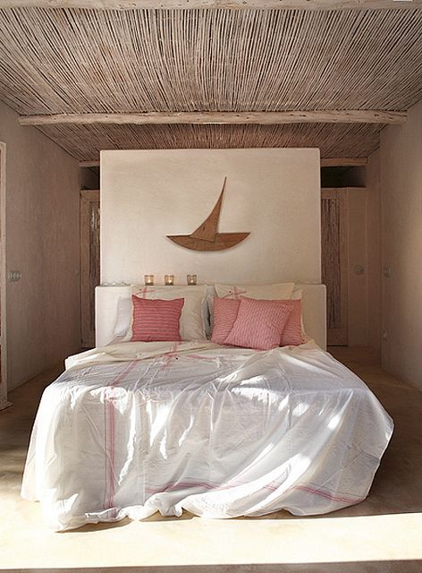a modern rustic home on formentera by the style files