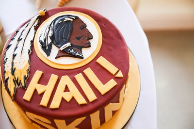 Redskins Groom Cake!