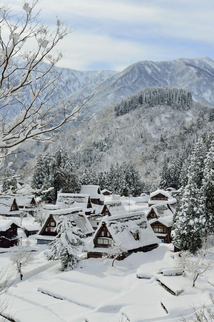 Gokayama, Toyama, Japan 五箇山