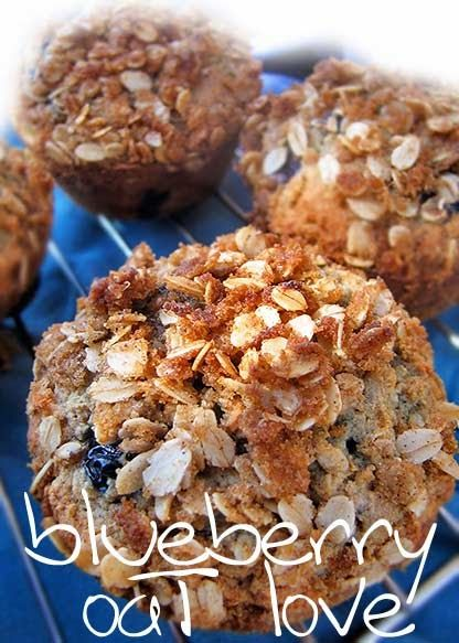 Gluten-free blueberry oat muffins. We woke to the sound of water. It is raining in the desert this morning. The overflow is spil...
