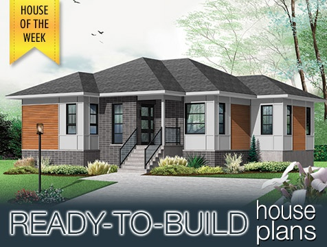 House Of The Week W3133 V2 Two Bedroom Contemporary House Affordable Visit