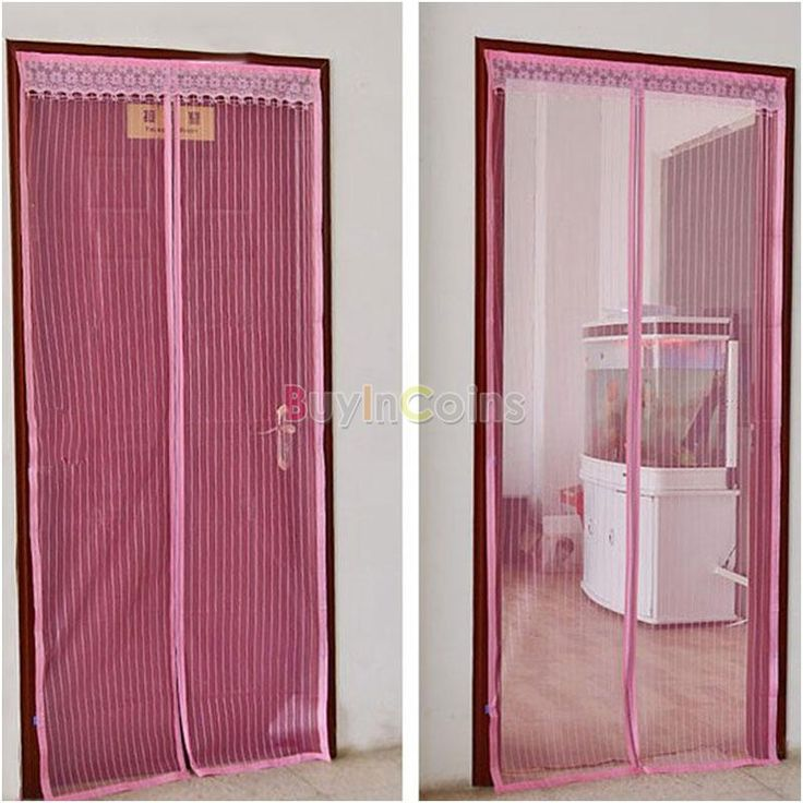 Anti Mesh Insect Fly Bug Mosquito Door Curtain Net Netting Mesh Screen Magnet -- BuyinCoins.com