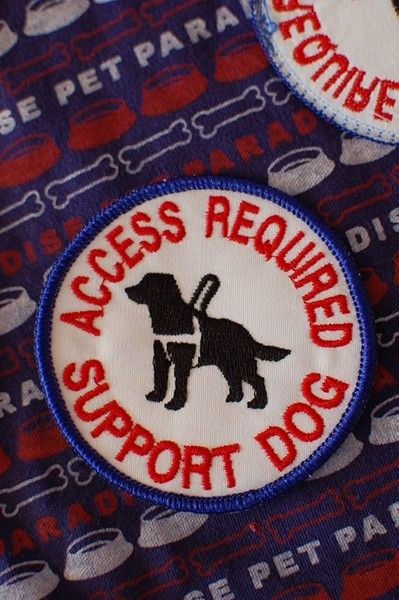 サポートドッグ(盲導犬)の為のワッペン :アメリカ製 :サイズ 約9cm :状態 新品未使用お洋服類に縫い付けて使用するワッペンです。盲導犬・聴導犬・介助犬・...|ハンドメイド、手作り、手仕事品の通販・販売・購入ならCreema。