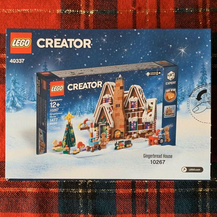 LEGO Creator Set 40337 Mini Gingerbread House Holiday