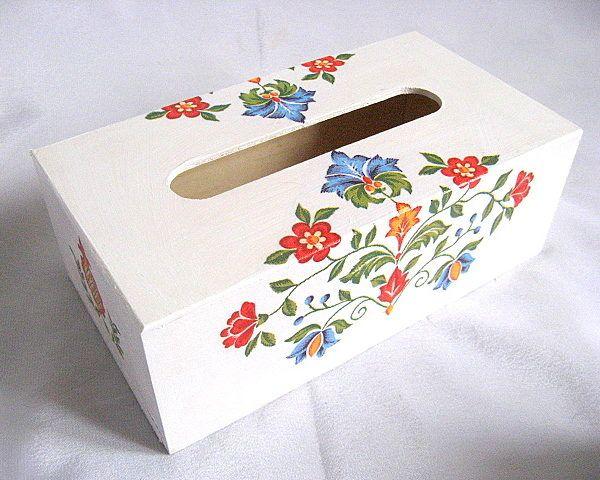 Cutie servetele hartie motive traditionale romanesti - acceptam comenzi si cu precomanda