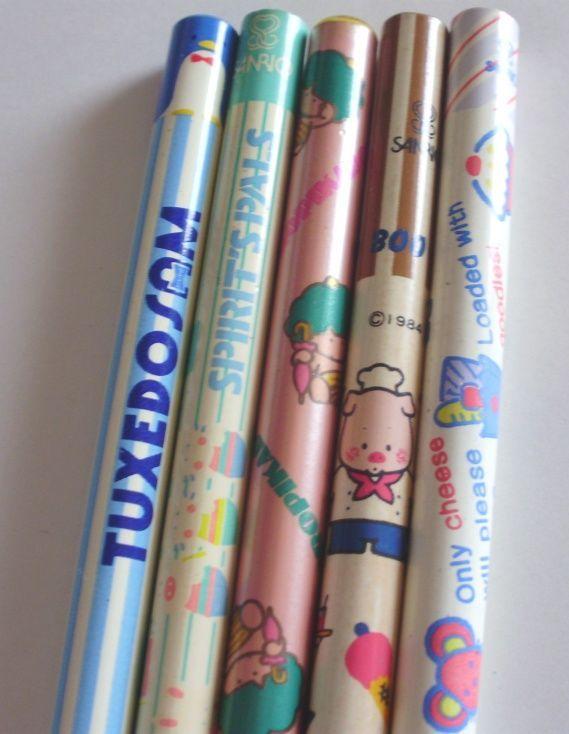 懐かしい 鉛筆の柄 : 可愛くて懐かしすぎる文房具!【80年代~90年代の子供】【昭和平成】 - NAVER まとめ