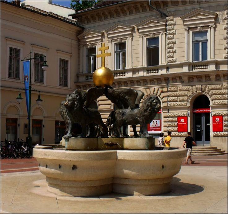 Milleniumi Díszkút-királyok Kútja .   Szeged, Klauzál tér 3, 6720 Magyarország