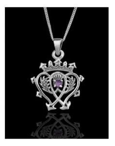 """Sterling Silver Scottish Luckenbooth Pendants in just £14.19 through Wholesale Pages. Buy in less price than ebay and amazon.   Crafted entirely of 925 sterling silver, it comes with a 16"""" sterling silver chain, and is shipped complete in a quality black and gold jewellery presentation box, with a leaflet explaining the history of the Scottish Luckenbooth. It will make an ideal gift, and a lasting memento, for yourself or for someone you love. Size (approx) - 12.5mm x 27.0mm."""