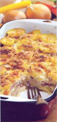 Reţetă culinară: Musaca de cartofi cu carne.