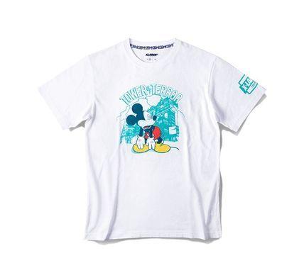 TDS限定 XLARGE コラボ Tシャツ ミッキー タワーオブテラー 白