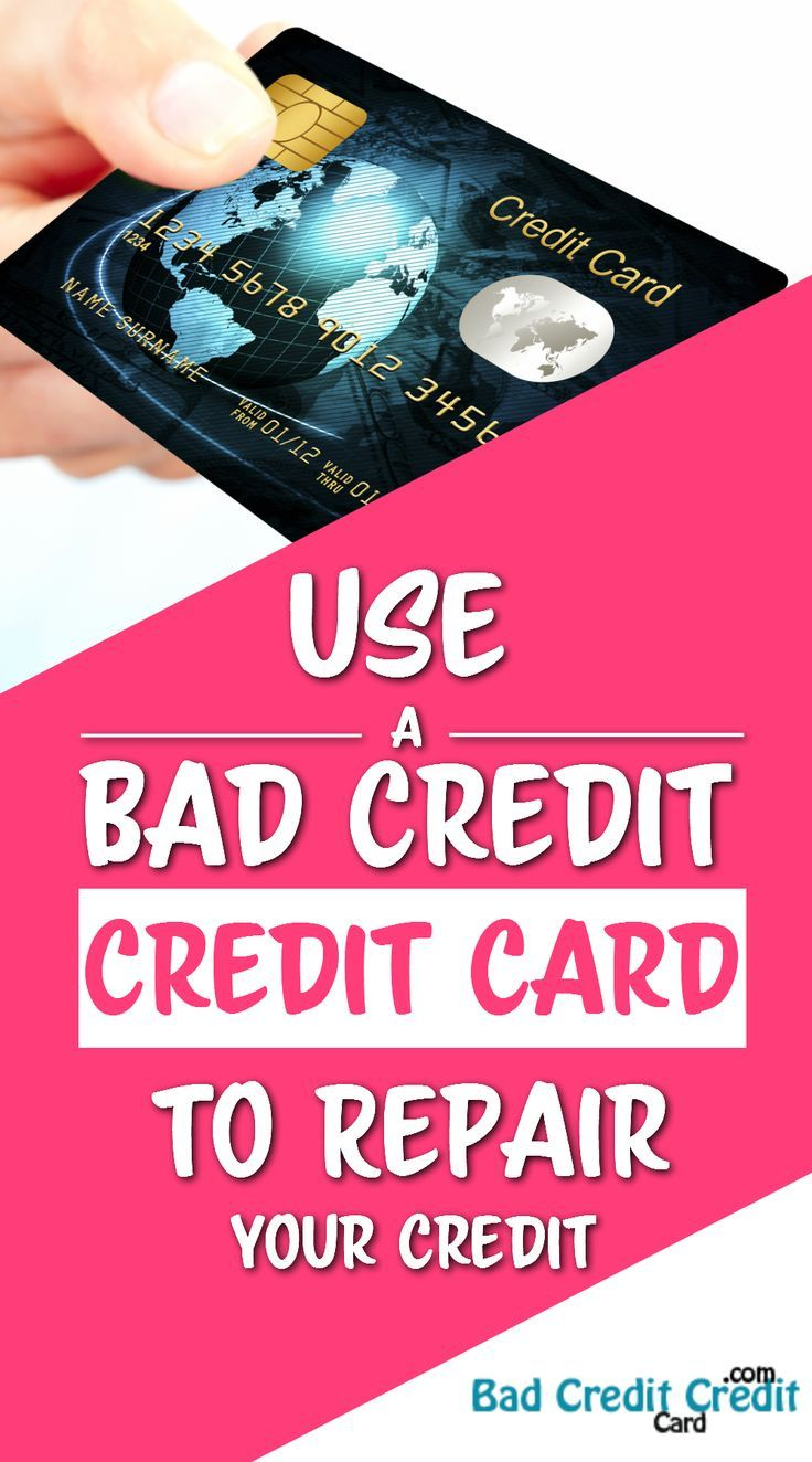 Use a Bad Credit Credit Card to Repair Your Credit. When your credit is bad, car…