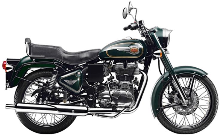 Royal Enfield Bullet 350 is good for travelling
