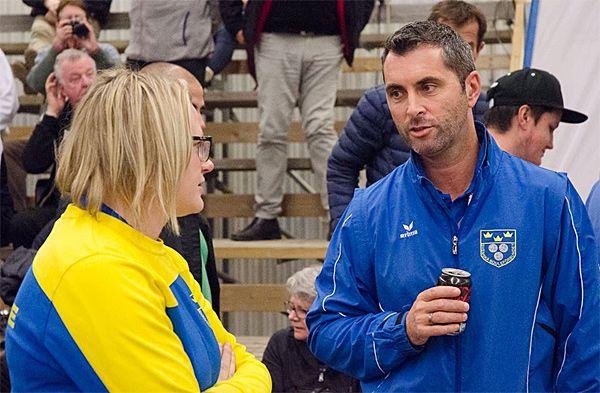 Championnat d'Europe individuel 2016 à Halmstad en Suède : David LE DANTEC coach pour la Suisse