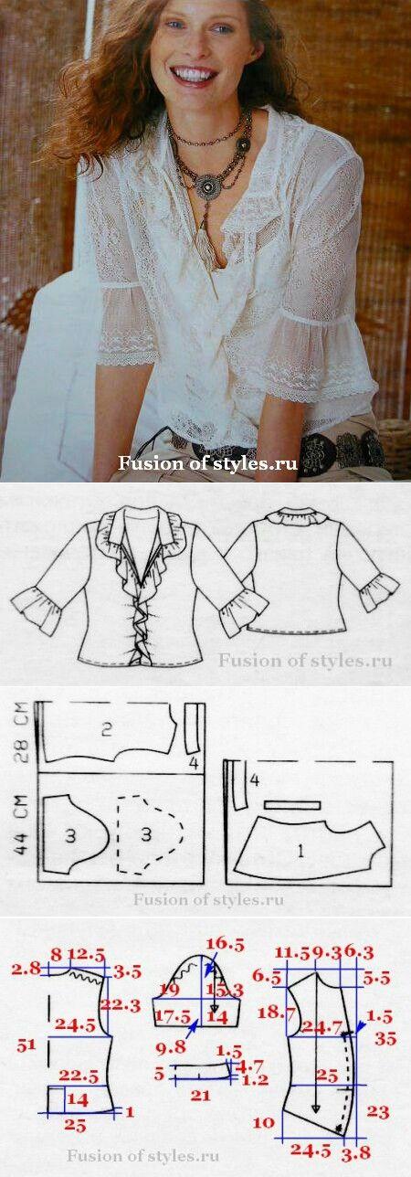 Boho style top...<3 Deniz <3