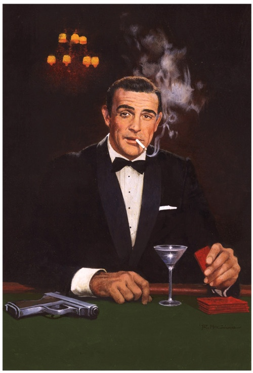 007 Robert Mcginnis James Bond Movie Posters Robert