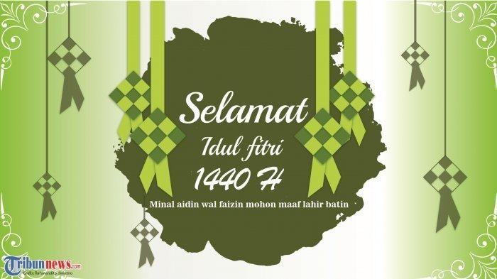 Kata Mutiara Islami Ucapan Idul Fitri Seni Kaligrafi Mutiara Agama