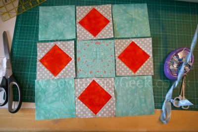 Sew. Happy. Quilt. QAL Tutorial: Peek A Boo Block | SewHappyGeek