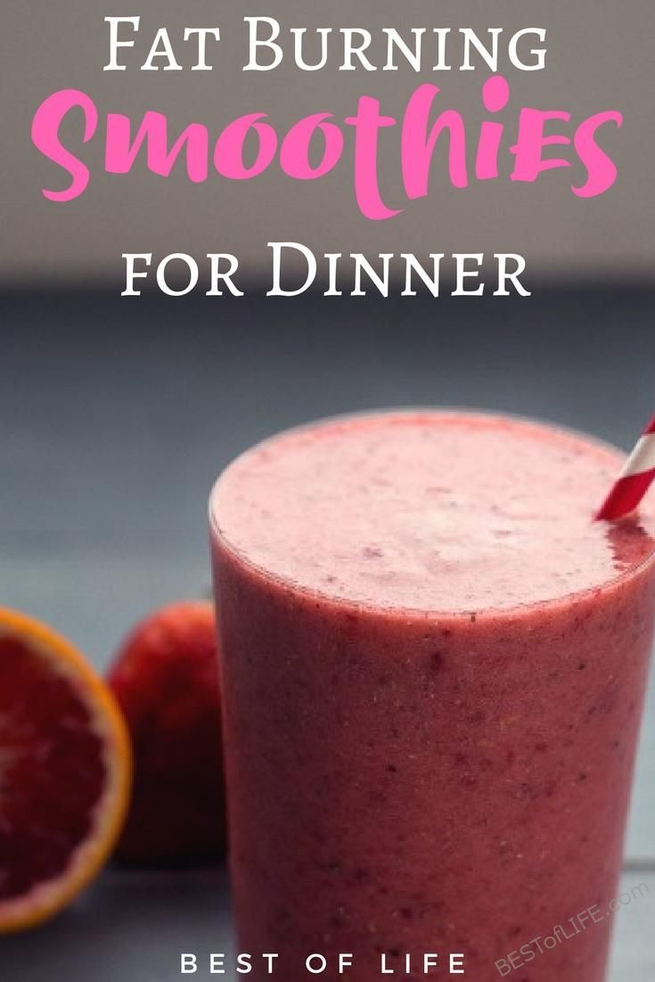 Lose weight, stay fit, and eat healthy with the help of fat burning smoothies that can replace a meal like breakfast, lunch or dinner.