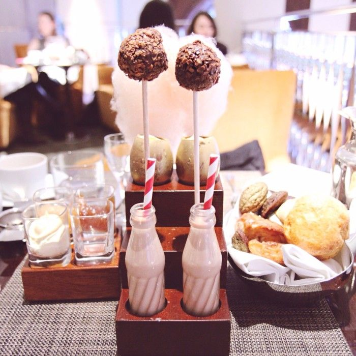 Tea service at One Aldwych (Charlie & the Chocolate Factory themed) - London City Guide (for the Non-Tourist Traveller)