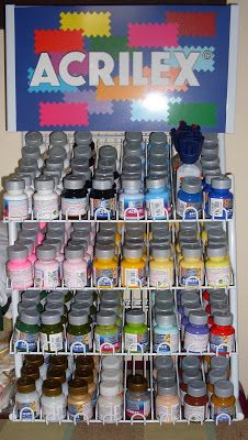 Lojinha d'anita - material para pintura: tintas para tecido acrilex 37ml (ref.197C)