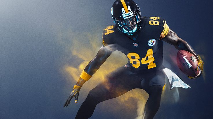 Pittsburgh Steelers : NFL Color Rush uniforms for 2016 Thursday night games…