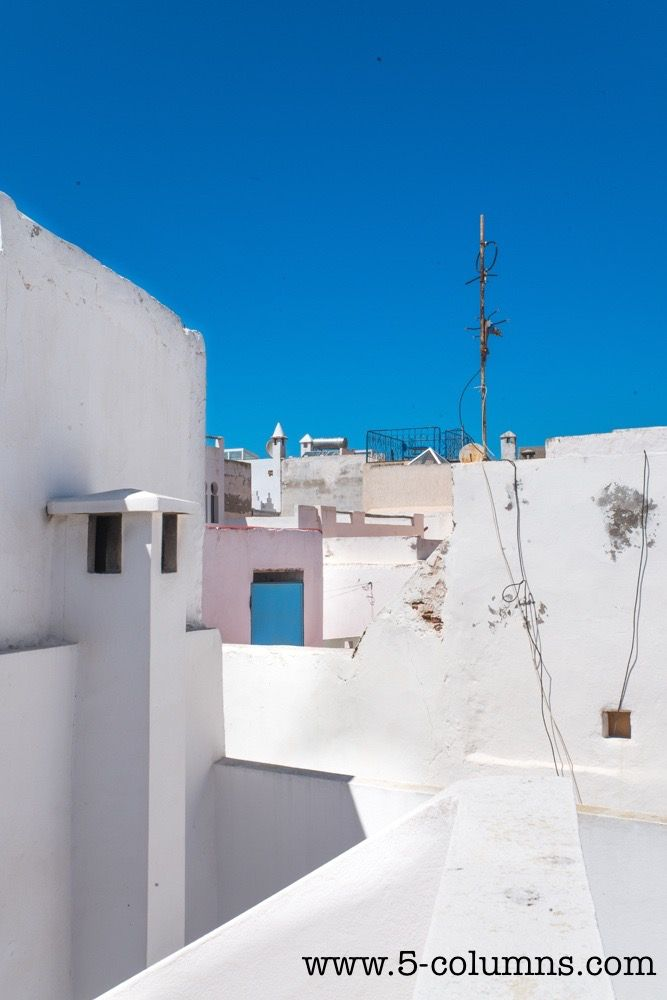Medina rooftops - view from the top terrace
