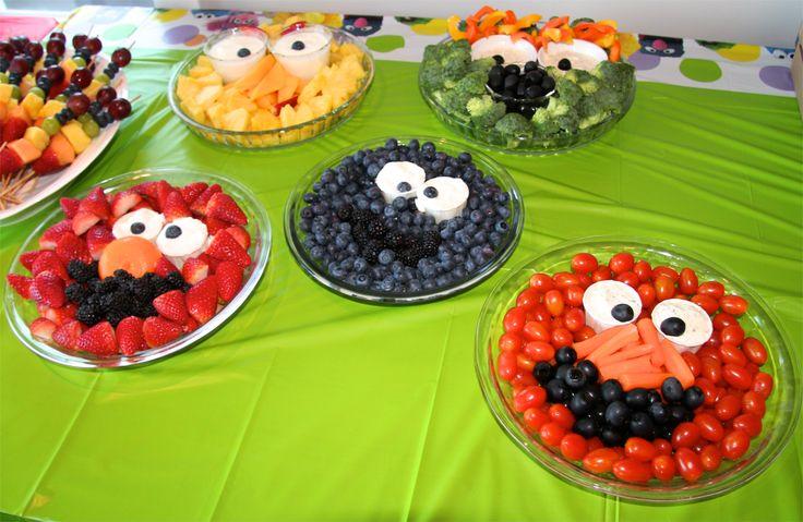 Character food plates