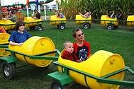 Barrel wagon train cars