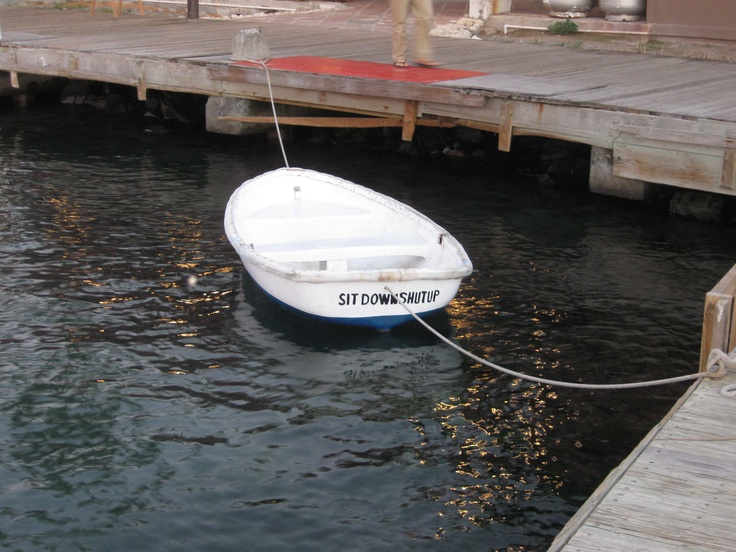 I love the name of this boat!