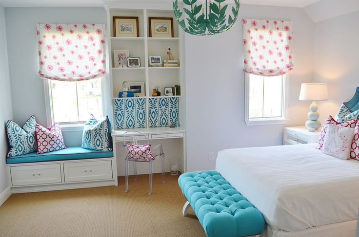 Her daughter was in a smaller bedroom with mostly hand-me-down furniture. Description from blog.heatherscotthome.com. I searched for this on bing.com/images