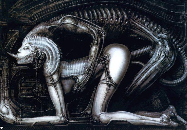 Hans Rüdi Giger: Deification XI