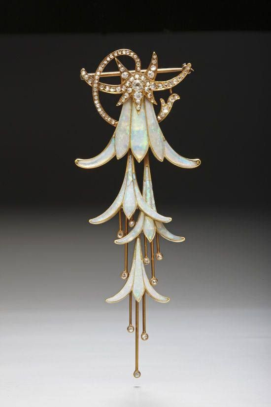 Art Nouveau jewelry by Georges Fouquet