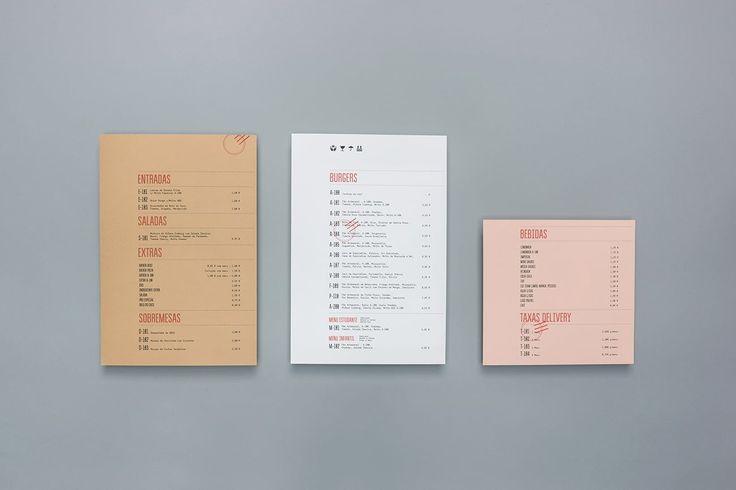 A 100 Burger delivery identity - Mindsparkle Mag
