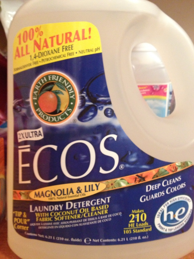 February 2013 All natural liquid detergent