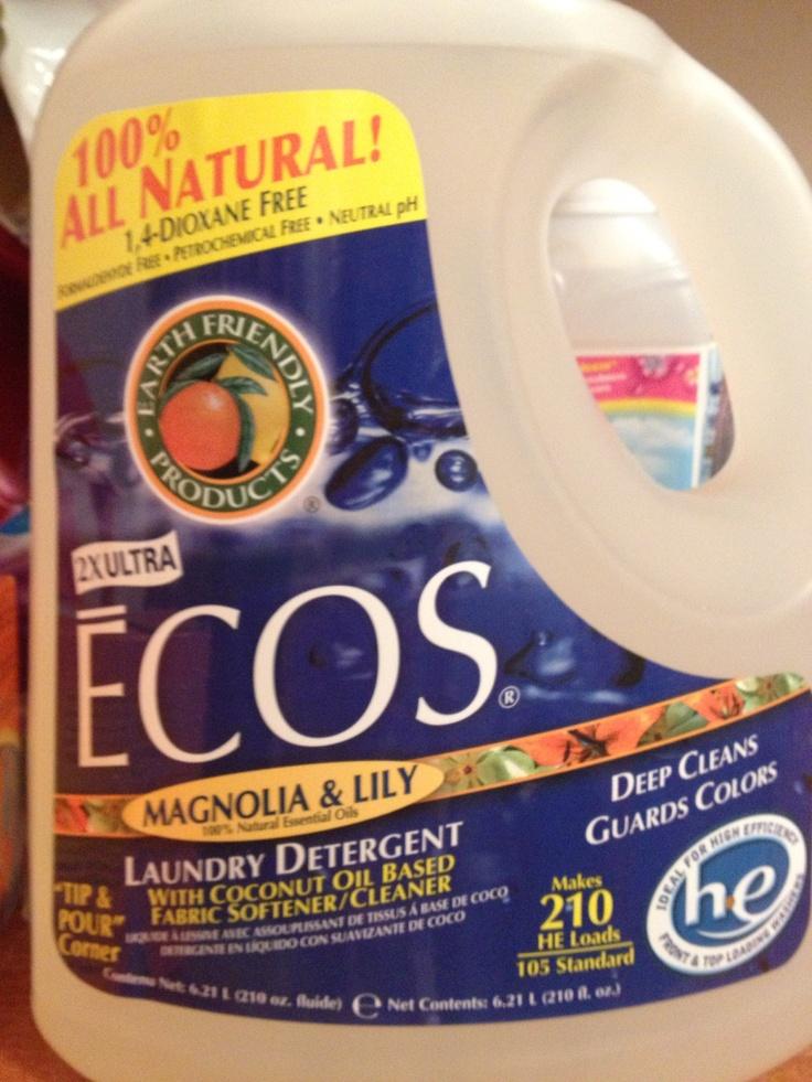 February 2013 All natural liquid detergent