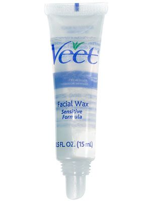 Veet High Precision Facial Wax.  Never needed this product but if I do Allure says its the best.