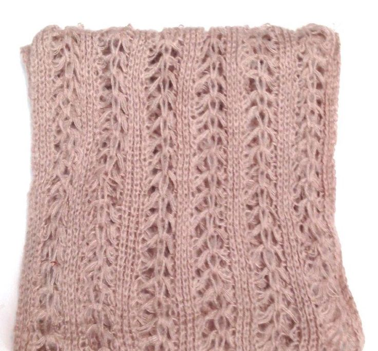 FAB - Fa1935 - Open Cable Knit Scarf