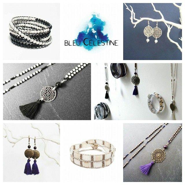 La créatrice @bleucelestine est en exposition au Comptoir à perles, une belle sélection de bijoux chics et bohèmes à la fois, à découvrir! ☆  #lecomptoiraperles #créatrice #bijouxdecréateurs #faitmain #handmade #handmadejewelry #perles #perlesaddict #creation #création #pompons #wrap #sautoir #braceletwrap #bijoux #couleurs #colors #blue #bleu #bleucelestine #bouclesdoreilles