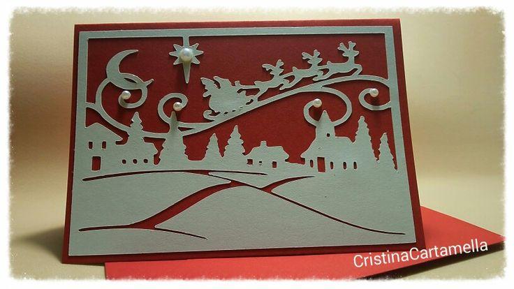 Card fatta con silhouette cameo