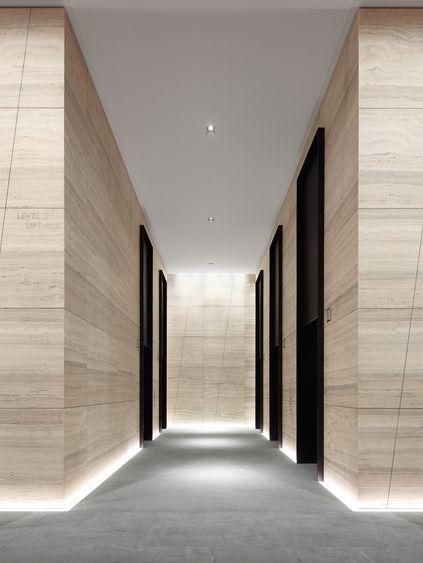171 Collins Street VIC, Melbourne (luz no topo dos elevadores)