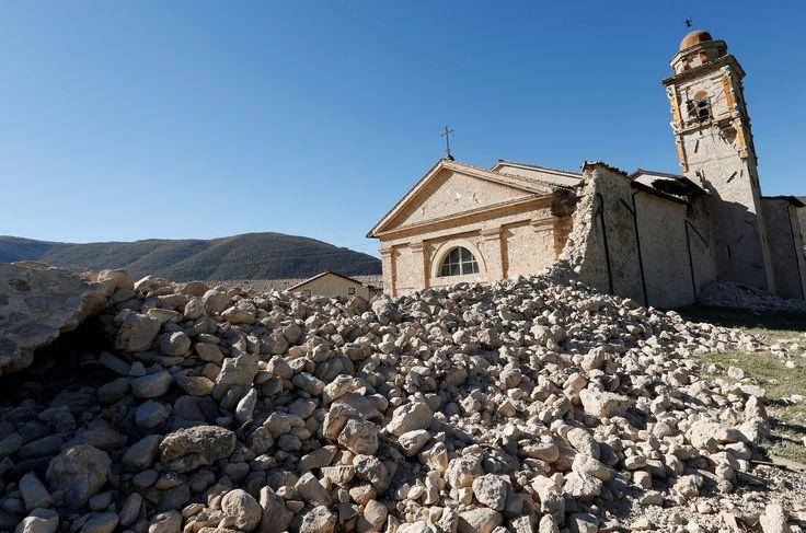La mappa del terremoto che ha colpito il centro Italia