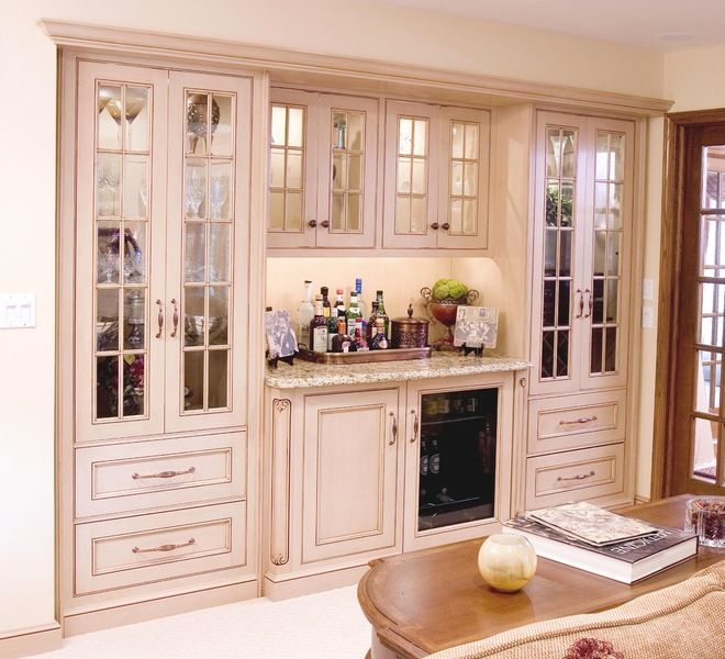 Home Built Kitchen Cabinets: Built In China /bar/ Cabinet