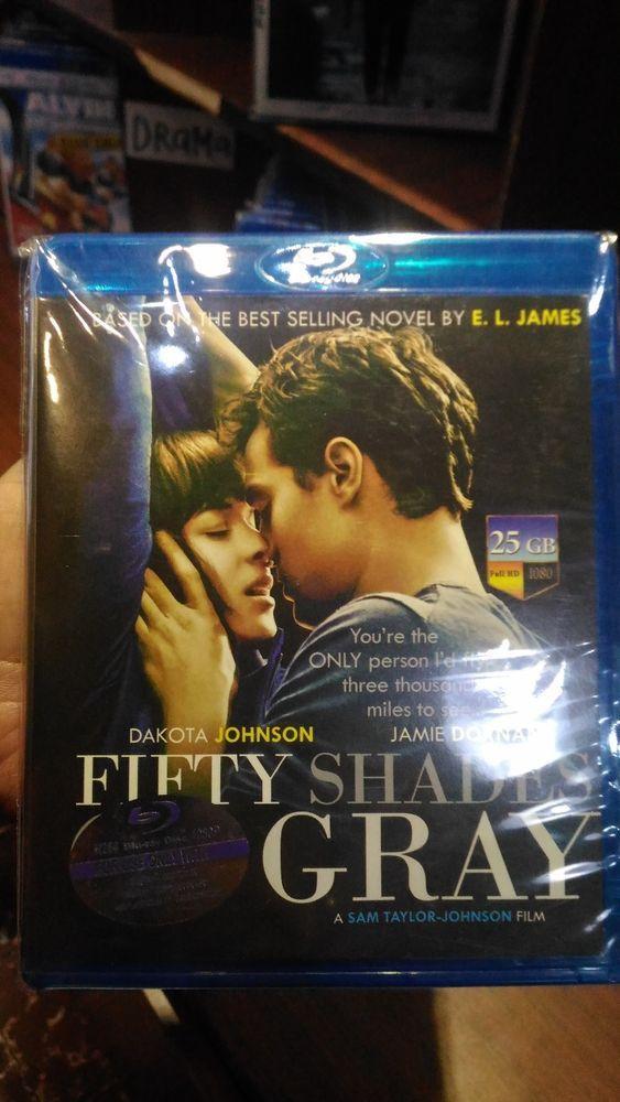 Fifty Shades Gray Blu-ray Movie Free Shipping