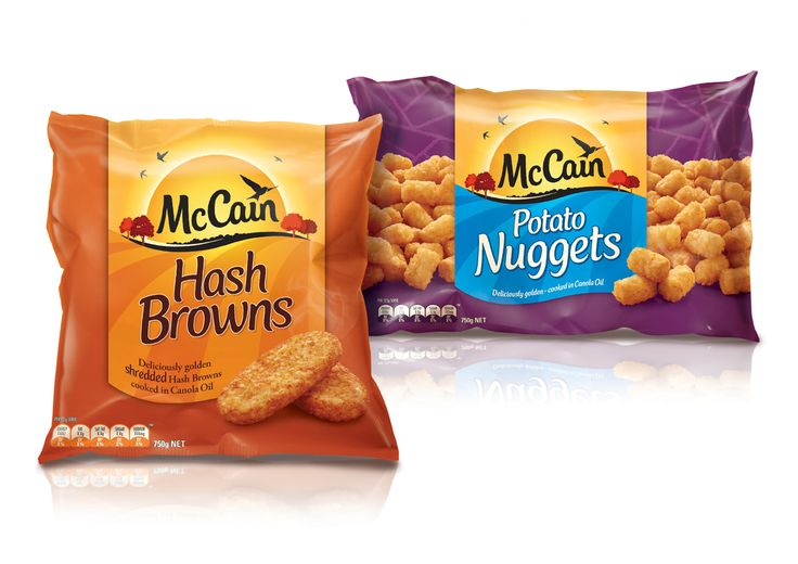 Packaging of the World: Creative Package Design Archive and Gallery: McCain Rebrand