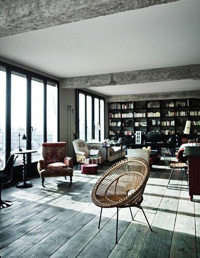 La maison poétique : Loft parisien