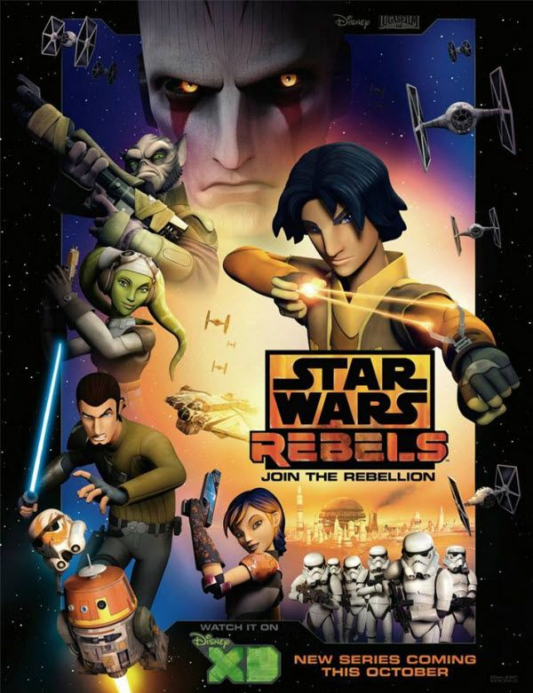 "New Clips For ""Star Wars Rebels"" July 25, 2014"