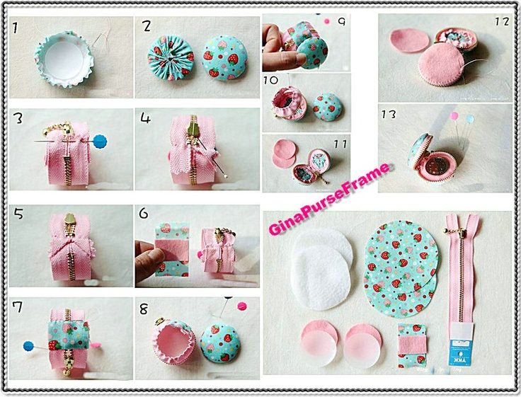 Diy Coin Purse No Sew 25+ best ideas about M...